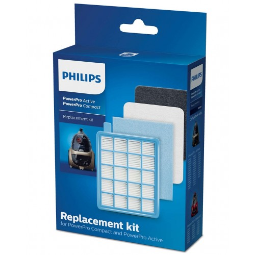 Купить Фильтры для Philips PowerPro Active и PowerPro Compact в комлекте FC8058/01 в Украине недорого