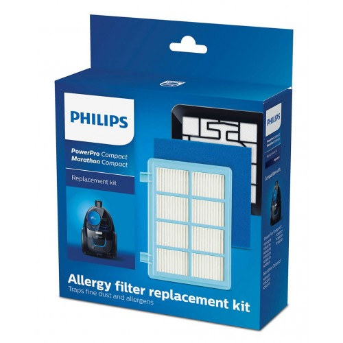 Купить Фильтры для пылесосов Philips FC9330 – FC9334, FC9350 – FC9353, FC9549 - FC9588 Powerpro Compact 5 и Powerpro Active 7 в Украине недорого