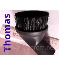 Насадка круглая щётка кисточка Thomas 139791 для пылесосов