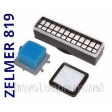 Для пылесоса Zelmer Aquario 819 (zvc712) набор фильтров