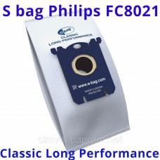Одноразовые мешки S Bag Philips FC8021 03 пылесборники пылесосов FC 9073, FC 9071, FC9170, FC8655