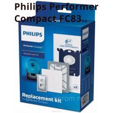 Фильтры и мешки пылесосов Philips Performer Compact FC8370 - FC8399 в комплекте FC8074/01